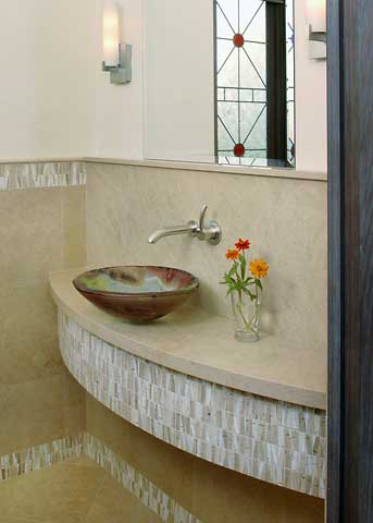 Contemporary Water Closet