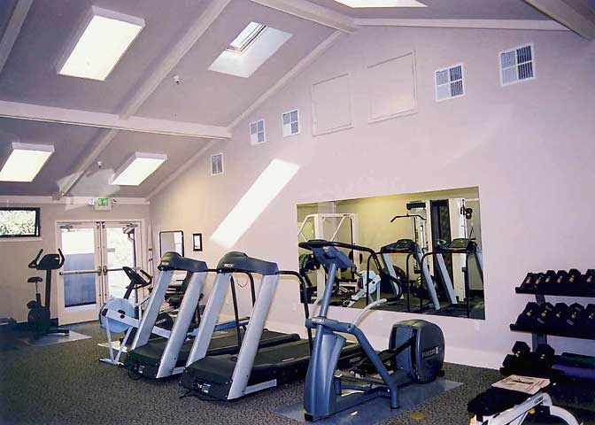 Fitness Center, Interior